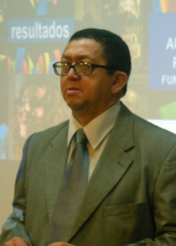 Presidente da Fundarpe Severino Pessoa