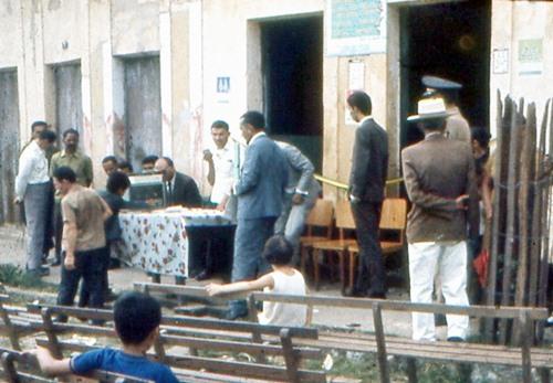 Preparativos para a solenidade e inauguração da Cooperativa Mista dos Trabalhadores Rurais de João Alfredo, no dia 13 de janeiro de 1969.