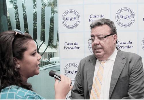 Vereador Biu Farias, presidente da UVP