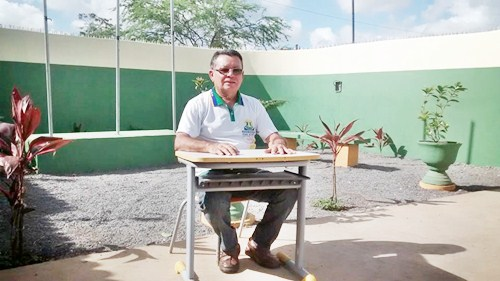 Prof. Manoel Mariano (gestor)