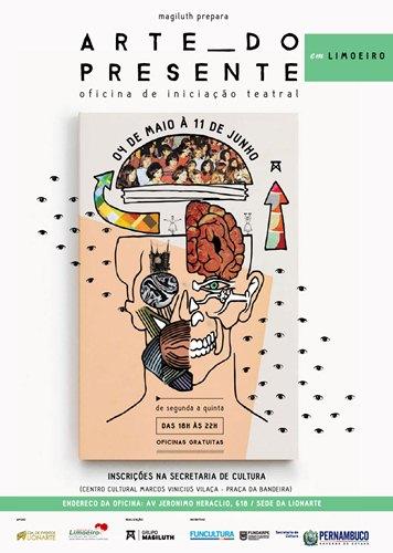 Cartaz Arte do Presente - Limoeiro