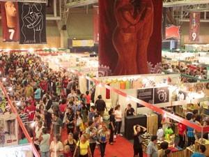 A Feira Nacional de Negócios do Artesanato acontece Centro de Convenções. (Foto: Daniela Nader / Divulgação)