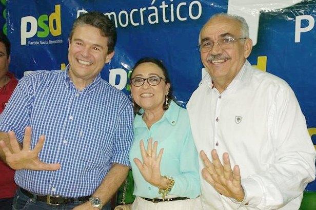André de Paula, Maria Sebastiana e Severino Silvestre
