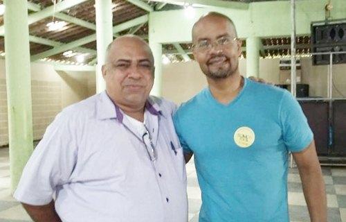 Hamilton  e Edilson Silva