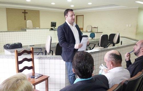 Promotor de Justiça Mário Barros