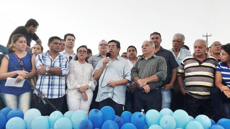 O ex-prefeito Sebastião Mendes