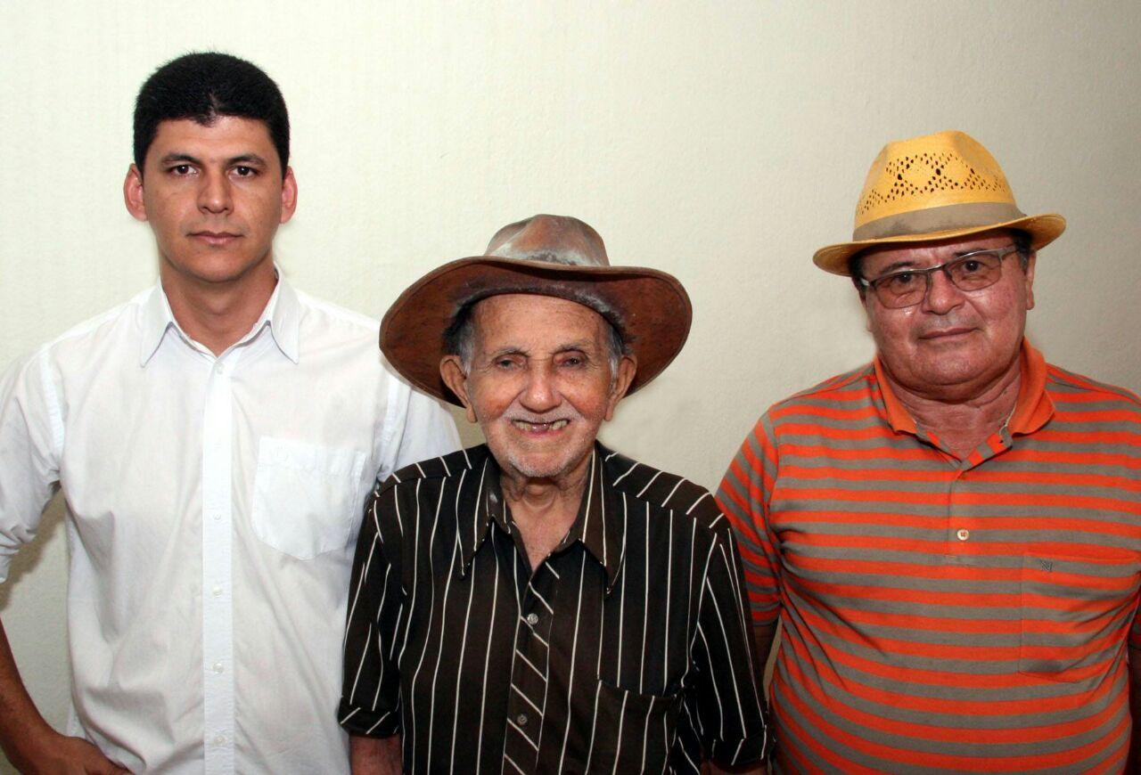 Gabriel Moura, Jaime Lima e João Ferreira