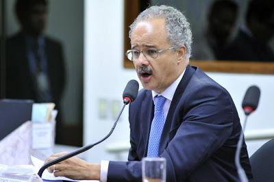 Deputado Vicente Cândido (PT-SP), relator da  Reforma Política na Câmara dos Deputados (Gilmar Felix/Câmara dos Deputados)