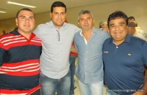 "Batata, Tallys Maia, Ivanildo ""Lero"" e Elisberto"