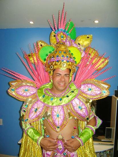 Marquinho Maciel no Carnaval carioca