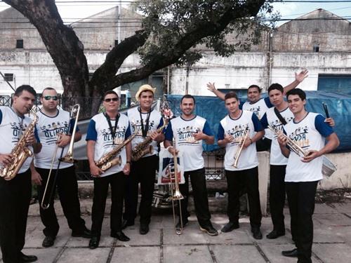 Músicos de João Alfredo nos carnavais de Recife e Olinda