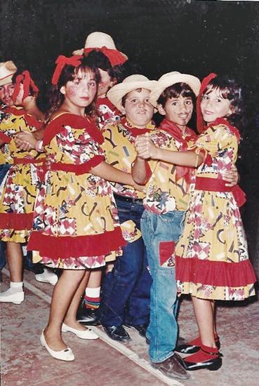 1989 Karina, Júnior, Calinho e Jailma